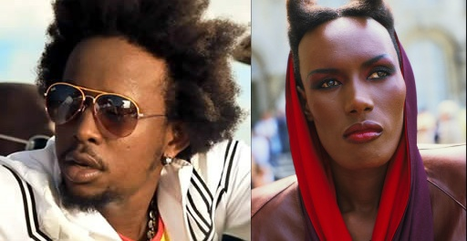 Popcaan and Grace Jones