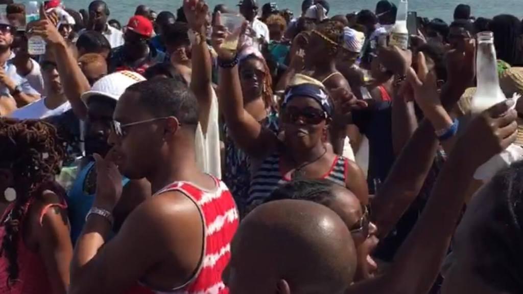 Miami Morning Beachwear Boat Ride