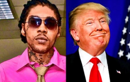 Vybz Kartel and Donald Trump