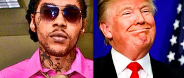 Vybz Kartel and Donald Trump