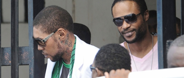 Vybz Kartel and Shawn Storm