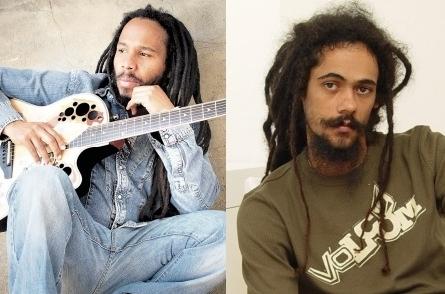 Ziggy Marley and Damian Mar