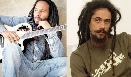 Ziggy Marley and Damian Mar