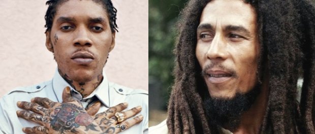 Vybz Kartel and Bob Marley