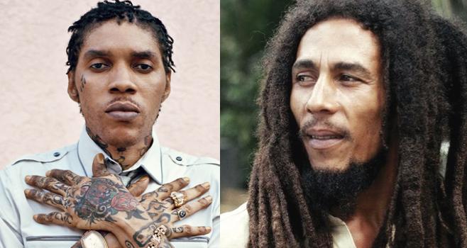 Vybz Kartel and Bob Marley