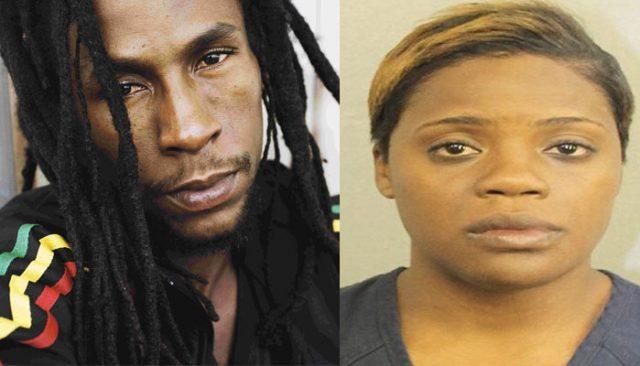 Jah Cure and sister Mckadia Damale Alcock