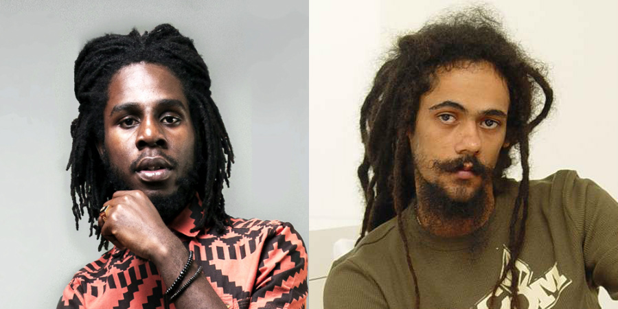 Chronixx and Damian Marley