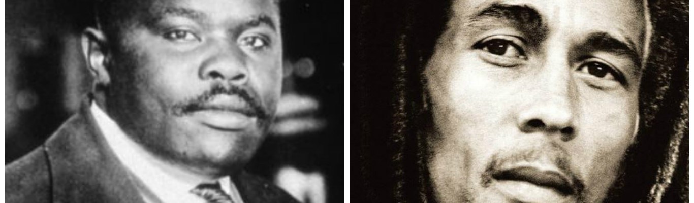 Marcus Garvey and Bob Marley
