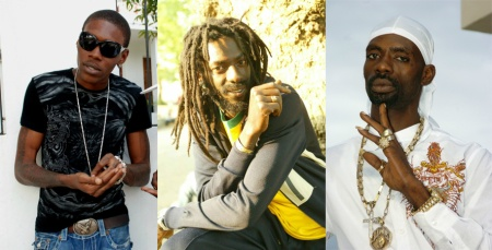 Vybz Kartel, Buju Banton and Ninja Man