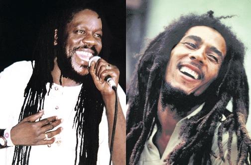 Dennis Brown and Bob Marley