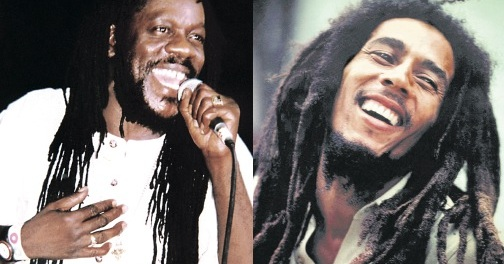 Dennis Brown and Bob Marley