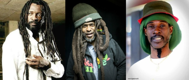 Lucky Dube, David Hinds and Vaughn Benjamin